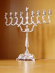 A Hanukkah Menorah
